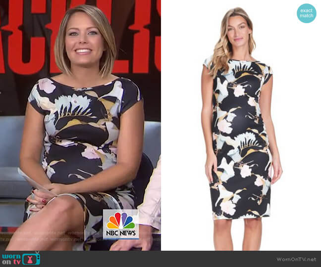 Leo Maternity Dress by Soon Maternity worn by Dylan Dreyer  on Today