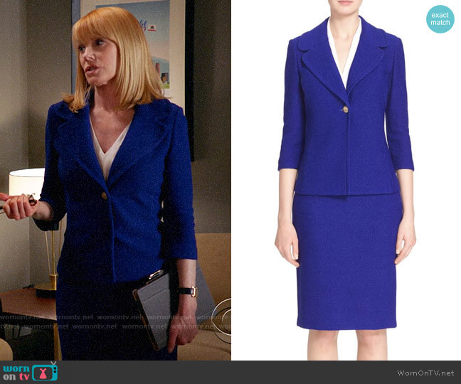 St John Collection Newport Jacket and Skirt worn by Lisa Benner (Marg Helgenberger) on All Rise
