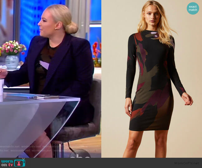 Lauryy Dress by Ted Baker worn by Meghan McCain  on The View