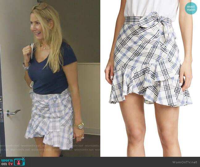 Kaia Skirt by Veronica Beard worn by Kary Brittingham  on The Real Housewives of Dallas