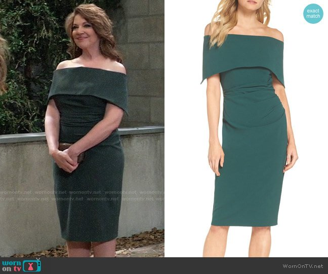 Vince Camuto Popover Dress worn by Liesl Obrecht (Kathleen Gati) on General Hospital