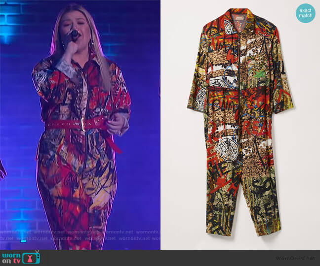 Murray Onesie by Vivienne Westwood worn by Kelly Clarkson  on The Kelly Clarkson Show