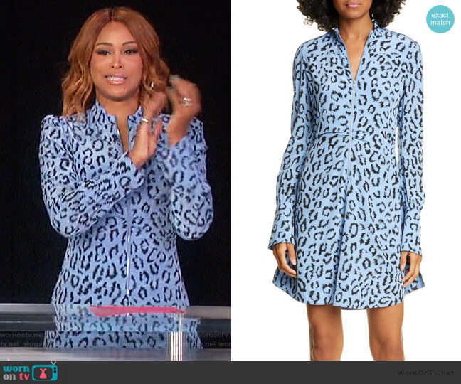 Marcella Dress by A.L.C. worn by Eve  on The Talk