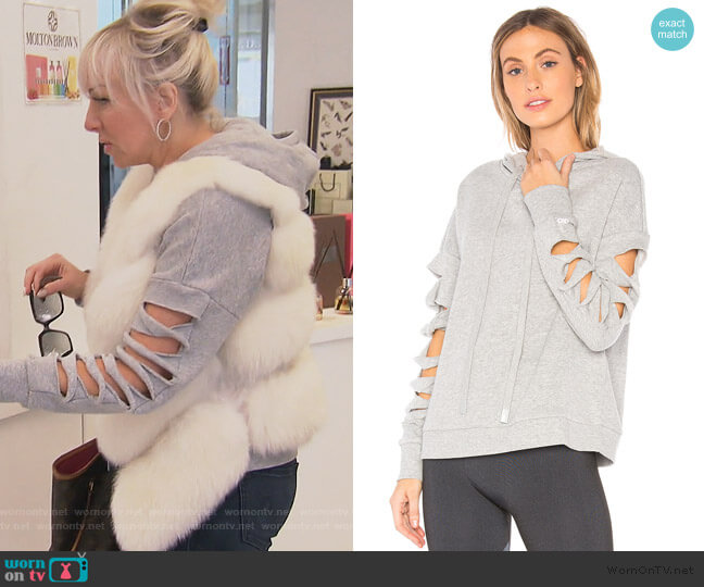 Slay Hoodie by ALO worn by Margaret Josephs  on The Real Housewives of New Jersey