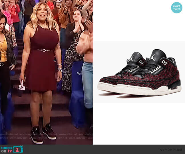 Anna Wintour - Vogue Sneakers by Air Jordan worn by Wendy Williams  on The Wendy Williams Show