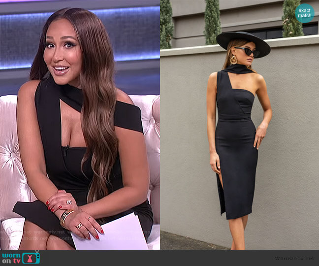 Sasha Dress by Bianca and Bridgett worn by Adrienne Houghton  on The Real