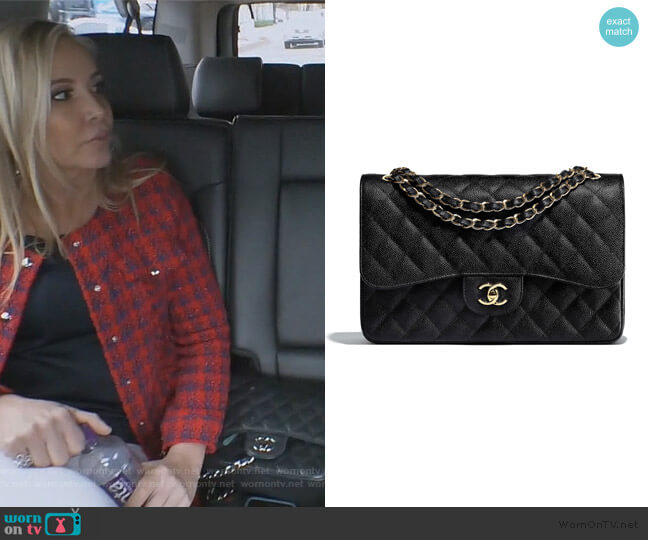 Large Classic Handbag by Chanel worn by Shannon Beador  on The Real Housewives of Orange County