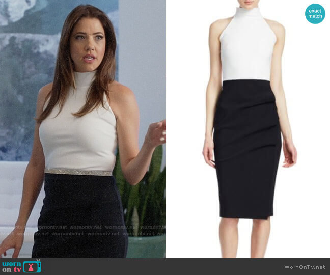 Chiara Boni La Petite Robe Sabinka Dress worn by Andrea Rojas (Julie Gonzalo) on Supergirl