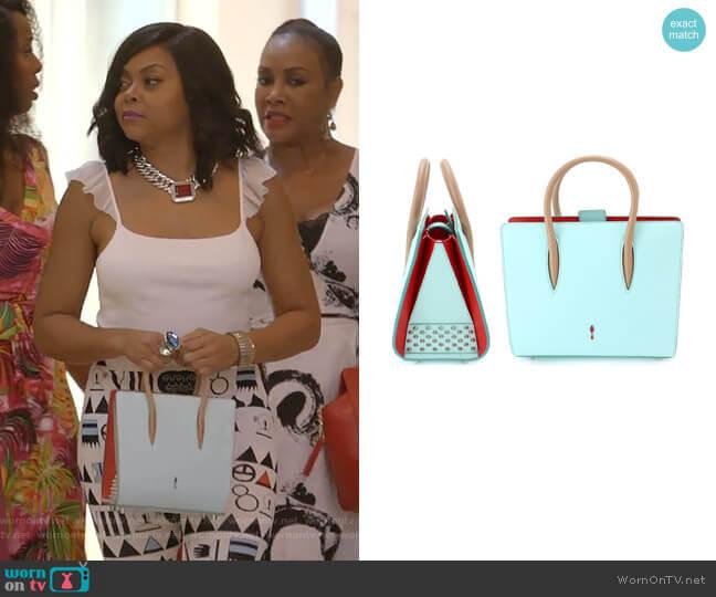 Paloma Small Bag by Christian Louboutin worn by Cookie Lyon (Taraji P. Henson) on Empire