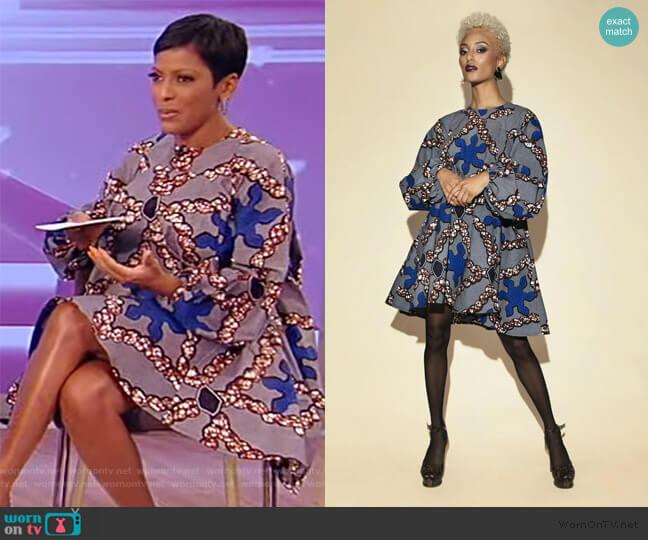 Kia Dress by Demestik worn by Tamron Hall  on Tamron Hall Show