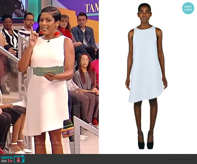 The Asymmetrical Cone Dress by Denzel Parris worn by Tamron Hall  on Tamron Hall Show