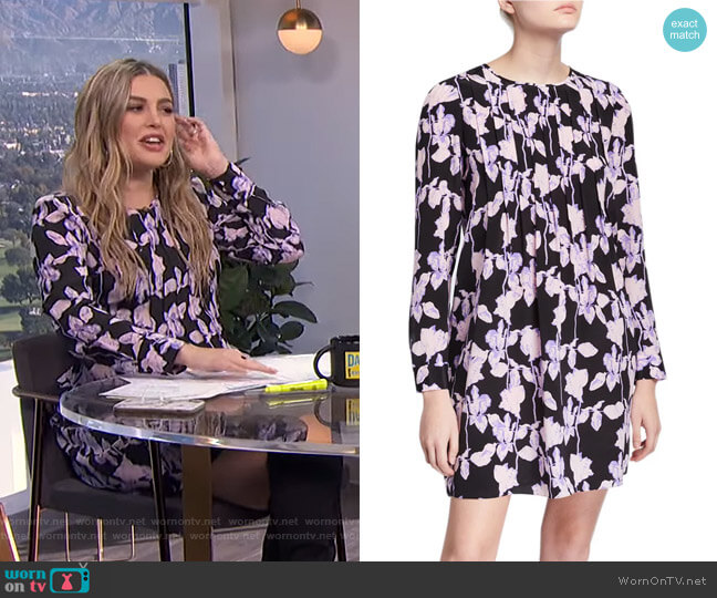 Joyce Dress by Diane von Furstenberg  worn by Carissa Loethen Culiner  on E! News