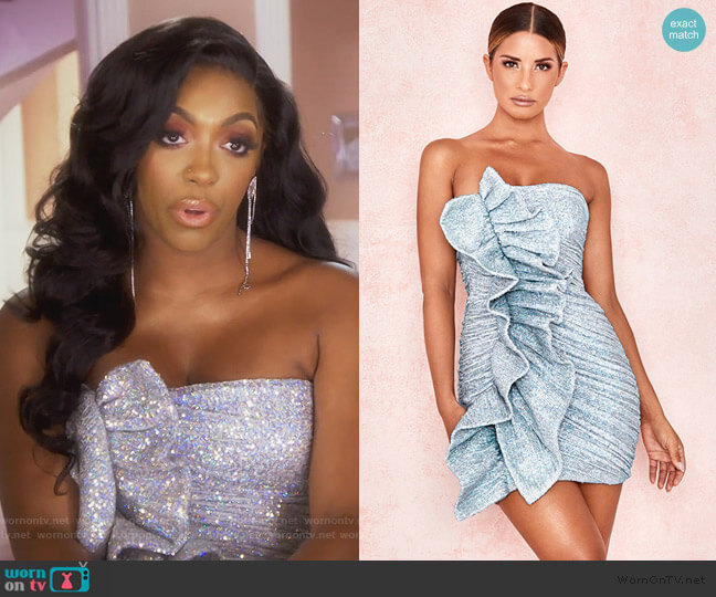Grace Dress by House of CB worn by Porsha Williams  on The Real Housewives of Atlanta