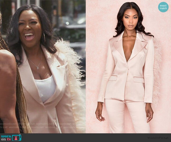 Orchidea Blazer by House of CB worn by Kenya Moore  on The Real Housewives of Atlanta