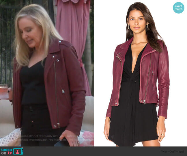 Han Jacket by IRO worn by Shannon Beador  on The Real Housewives of Orange County