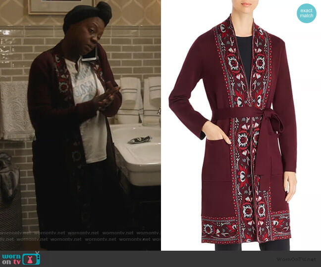Abigail Wool Sweater by Kobi Halperin worn by Annalise Keating (Viola Davis) on HTGAWM