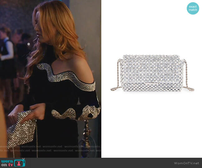 Mimi Beaded Clutch by Loeffler Randall worn by Kirby Anders (Maddison Brown) on Dynasty