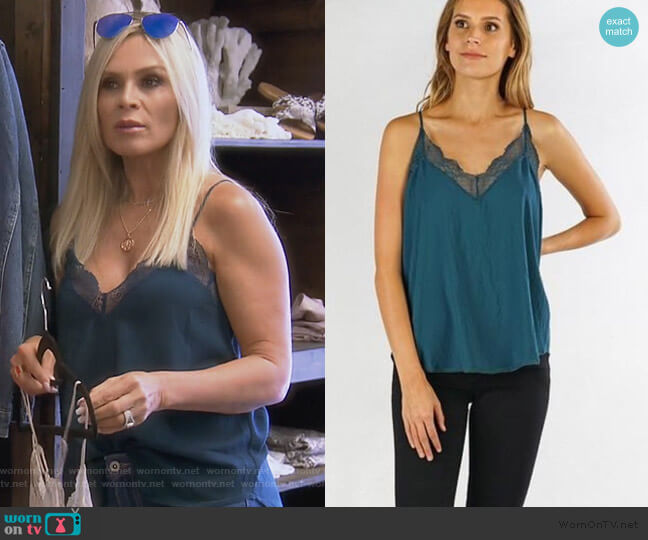 Zarina Cami by Love Stitch worn by Tamra Judge  on The Real Housewives of Orange County