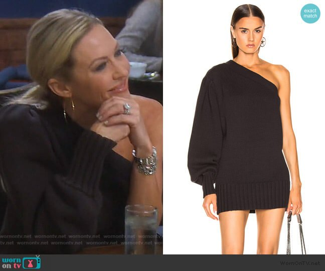 Laurette Sweater Dress by Marissa Webb worn by Braunwyn Windham-Burke  on The Real Housewives of Orange County