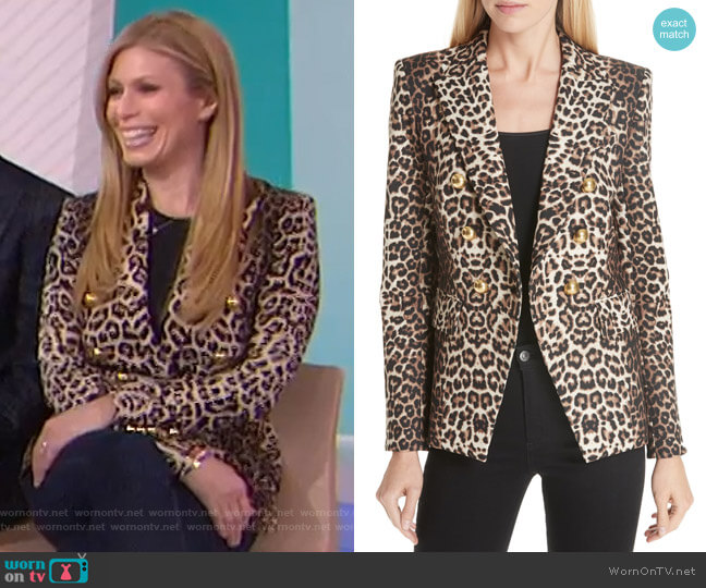 Miller Dickey Jacket by Veronica Beard worn by Jill Martin  on Today
