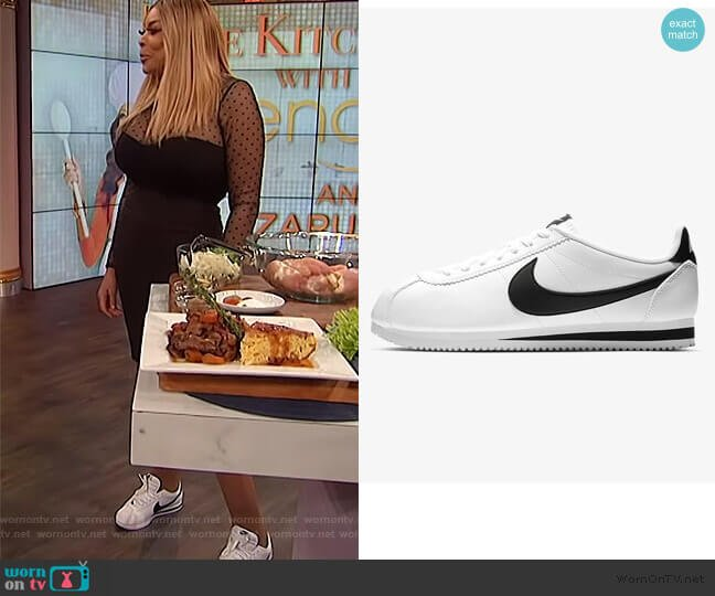 Classic Cortez Sneaker by Nike worn by Wendy Williams  on The Wendy Williams Show