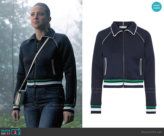 Opening Ceremony Spongy Track Jacket worn by Betty Cooper (Lili Reinhart) on Riverdale