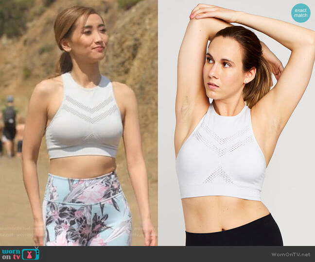 Seamless Bra by Soul by SoulCycle worn by Madison Maxwell (Brenda Song) on Dollface