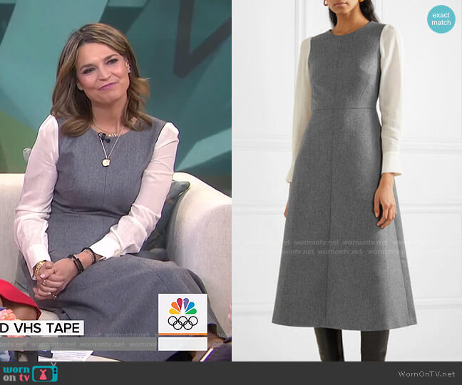 Tilda Midi Dress by Cefinn worn by Savannah Guthrie  on Today