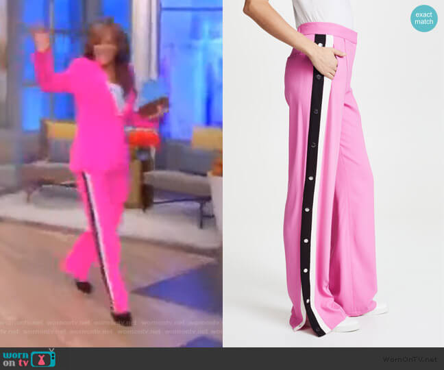 Russo Trousers by Veronica Beard worn by Sunny Hostin  on The View