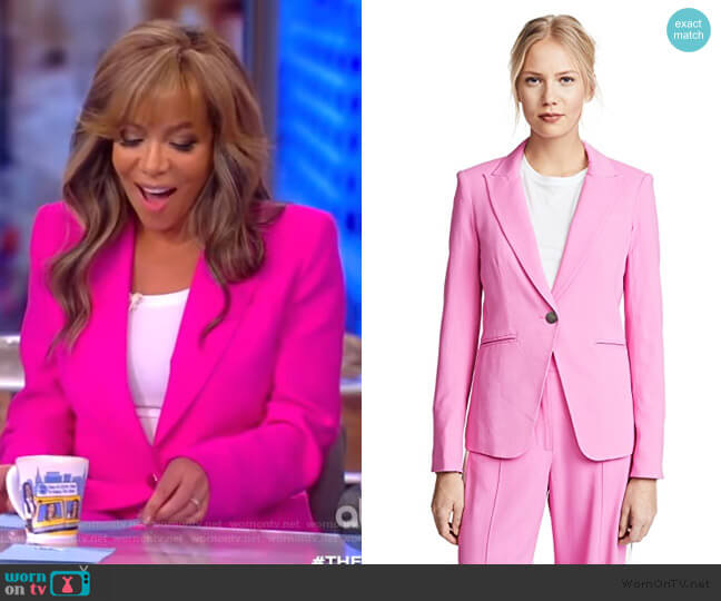 Simone Dickey Jacket by Veronica Beard worn by Sunny Hostin  on The View