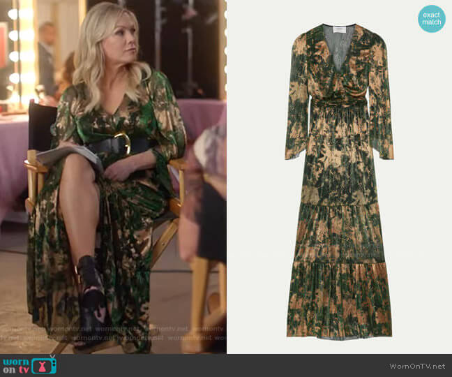 Vianca Dress by ba&sh worn by Jennie Garth  on BH90210