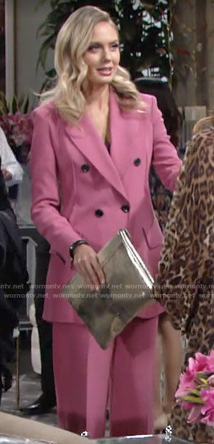Abby's pink suit on The Young and the Restless
