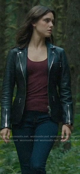 Abigael's leather jacket on Charmed