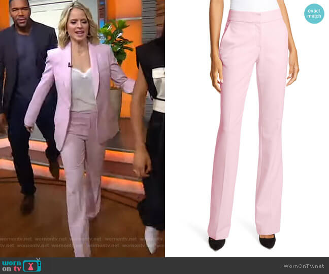 Nigel Wide Leg Pants by A.L.C.  worn by Sara Haines  on Good Morning America