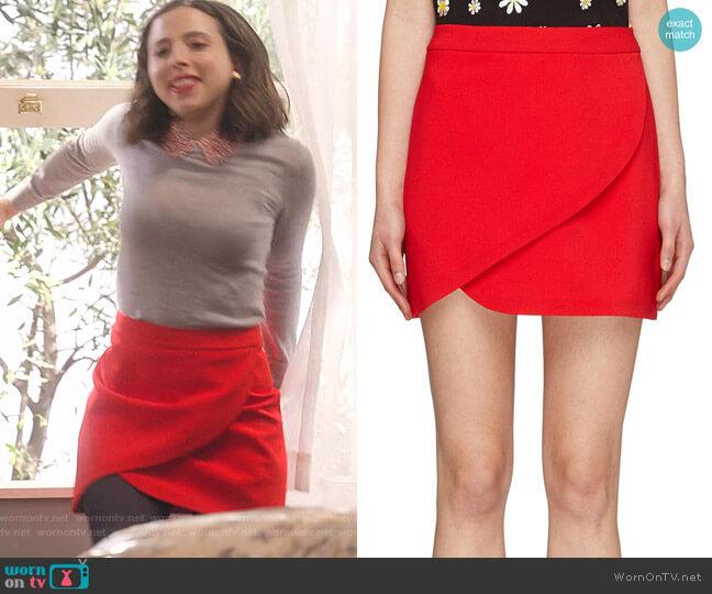 Dasia Mini Skirt by Alice + Olivia worn by Izzy Levine (Esther Povitsky) on Dollface
