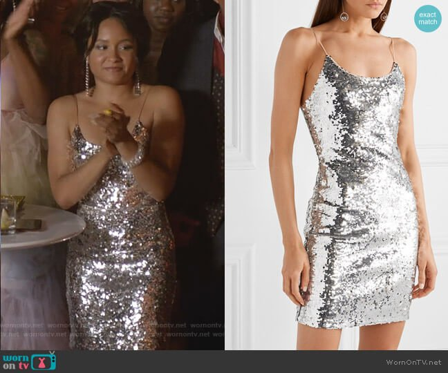 Giselle Sequin Dress by Alice + Olivia worn by Rhyon Nicole Brown on Empire