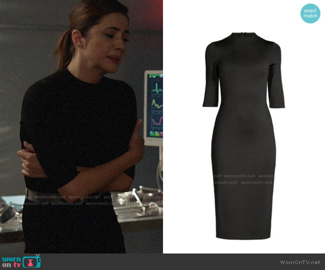 Alice + Olivia Delora Dress worn by Andrea Rojas (Julie Gonzalo) on Supergirl