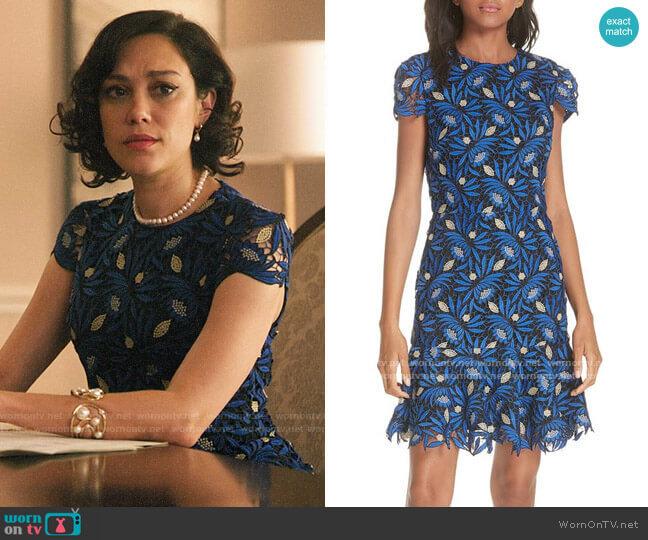 Alice + Olivia Imani Dress worn by Hermosa Lodge (Mishel Prada) on Riverdale