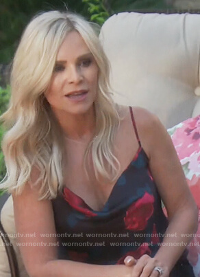 Tamra's floral print cami on The Real Housewives of Orange County