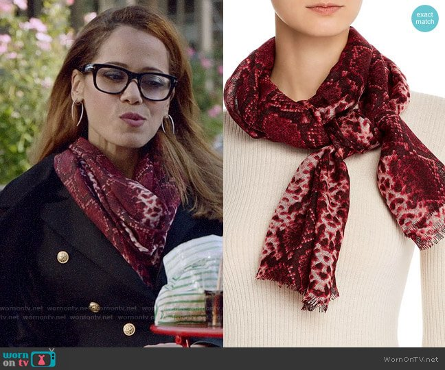 worn by Amanda Doherty (Victoria Cartagena) on Almost Family