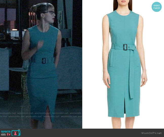 BOSS Dadoria Dress worn by Kara Danvers (Melissa Benoist) on Supergirl