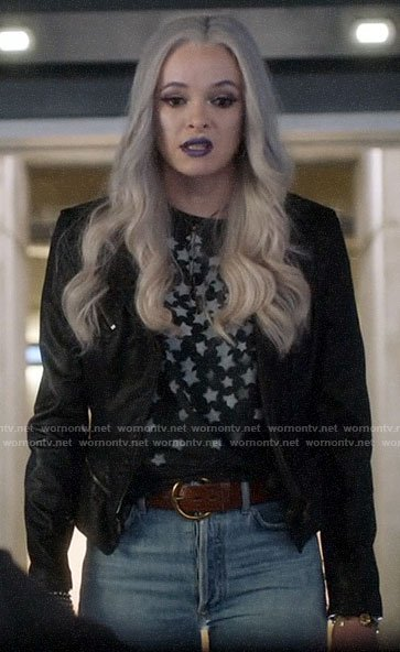 Frost's leather jacket on The Flash