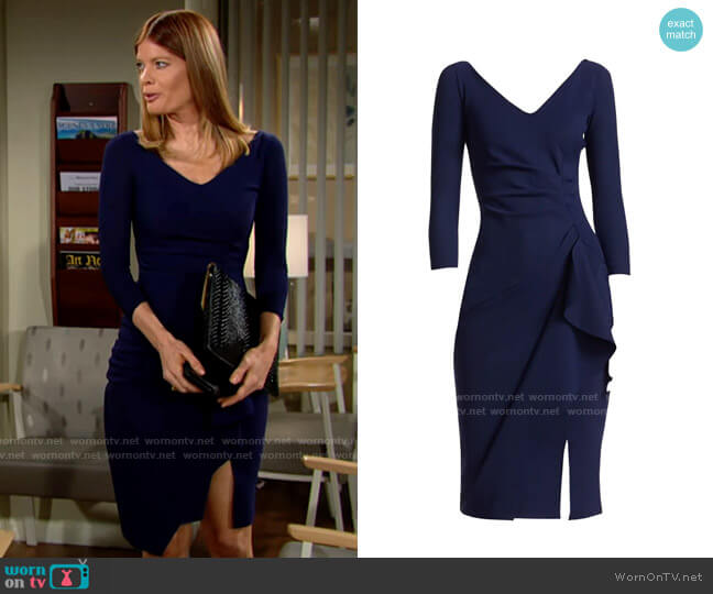 Chiara Boni La Petite Robe Kloty Dress worn by Phyllis Summers (Michelle Stafford) on The Young & the Restless