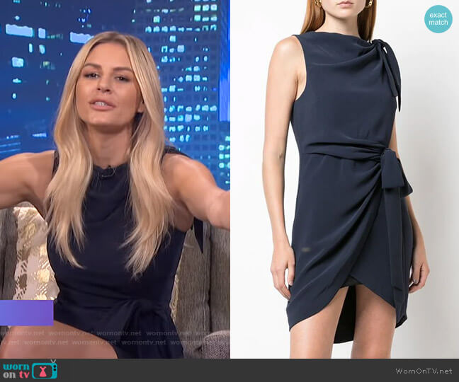 Nanon Mini Dress by Cinq a Sept worn by Morgan Stewart  on E! News