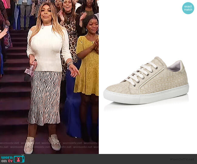 Nadia Shoes by Emme Cadeau worn by Wendy Williams  on The Wendy Williams Show