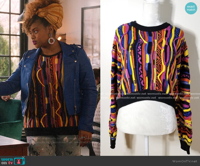 Forever 21 Sweater worn by Kourtney (Dara Renee) on High School Musical The Musical The Series