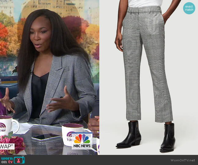 Cropped Perfect Trousers by Frame worn by Venus Williams on Today Show