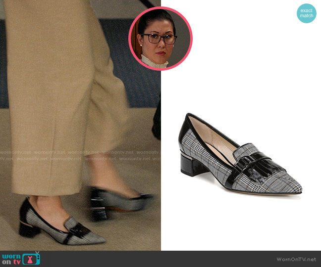 Franco Sarto Grenoble 2 Loafers worn by Sherri Kansky (Ruthie Ann Miles) on All Rise