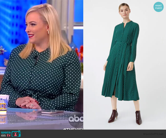 Tarini Dress by Hobbs London worn by Meghan McCain  on The View