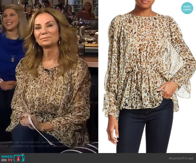 Saggi Top by Iro worn by Kathie Lee Gifford  on Today